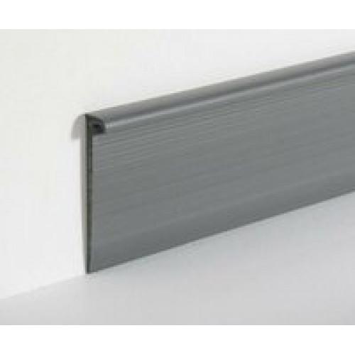 Плинтус Dollken EL 3,5 светло-серый, 4м - изображение 1