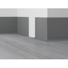 Плинтус Dollken EL 3,5 серый, 4м