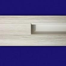 Плинтус напольный Стандарт Дуб белый 2,5м
