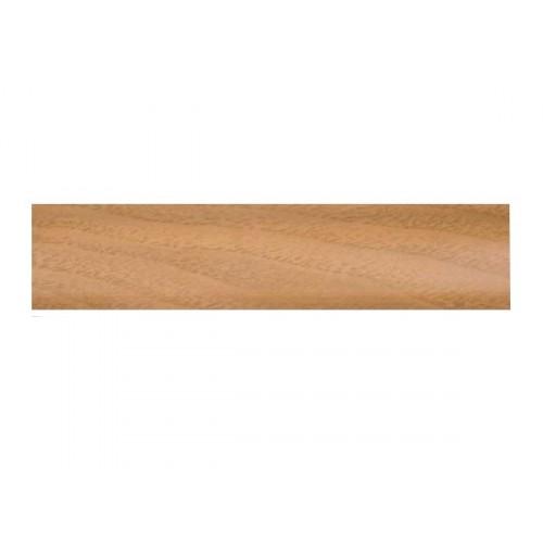 Плинтус напольный Стандарт Орех светлый 2,5м - изображение 1