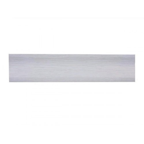 Плинтус напольный Стандарт светло-серый  2,5м - изображение 1