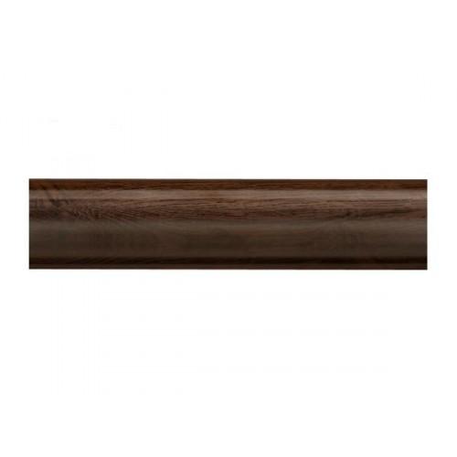 Плинтус напольный Стандарт Орех темный 2,5м - изображение 1