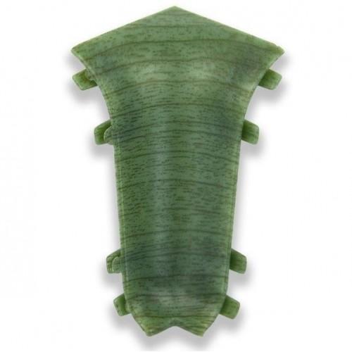 Угол к плинтусу внутренний Classic Ольха зеленая - изображение 1