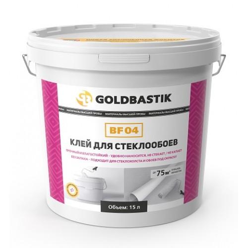 Клей для стеклообоев «GOLDBASTIK BF 04» ведро 15 кг. - изображение 1