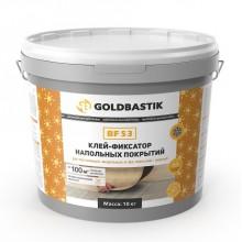Клей-фіксатор підлогових покриттів «GOLDBASTIK BF 53» 10 кг.