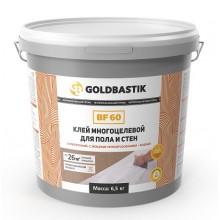 Клей багатоцільовий для підлоги і стін «GOLDBASTIK BF 60» 6,5 кг.