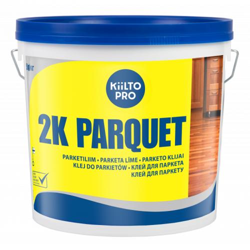 """Двухкомпонентний поліуретановий клей  Kiilto """"2 K PARQUET"""" 5.55 кг - зображення 1"""