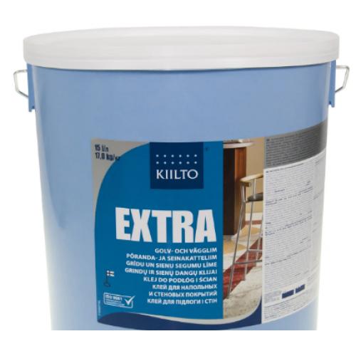 Клей для пола ПВХ и стен Kiilto Extra 15 кг - изображение 1