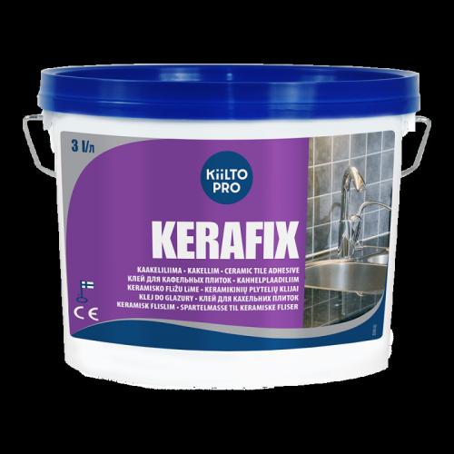 Клей для кафельных плиток Kiilto KERAFIX 4.5 кг - изображение 1
