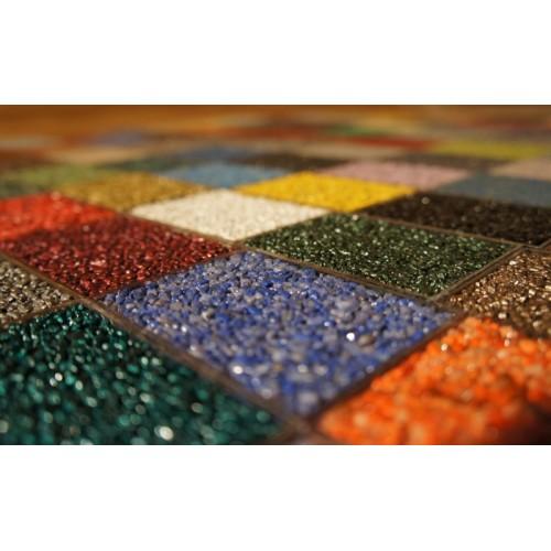 Хлопья(крошка) для декоративных напольных покрытий  FLOOR EXPERT COLOURFLAKES, 0.5 kg ярко-золотистый - изображение 1