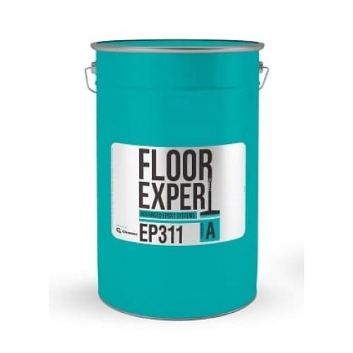 Двухкомпонентное покрытие FLOOR EXPERT EP 311 RAL 7032 компонент А 20,20 кг - изображение 1