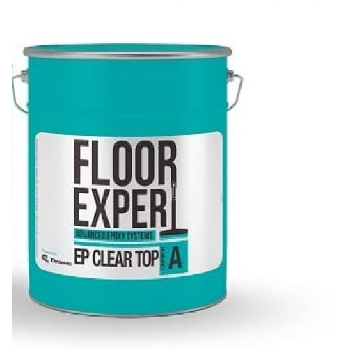 Двухкомпонентная эпоксидная смола FLOOR EXPERT EP CLEAR TOP компонент A 6.67 кг - изображение 1