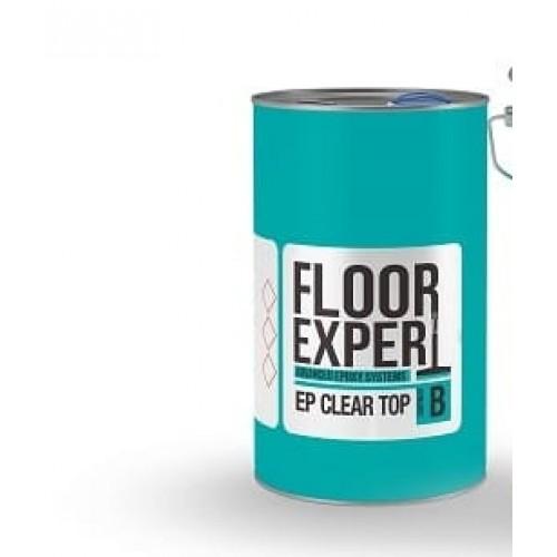 Двухкомпонентная эпоксидная смола FLOOR EXPERT EP CLEAR TOP компонент B 3.33 кг - изображение 1
