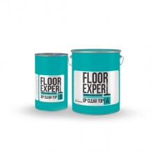 Двохкомпонентна епоксидна смола FLOOR EXPERT EP CLEAR TOP (компонент A 6.67 кг/компонент B 3.33 кг)