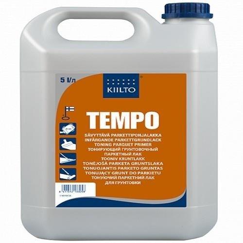 Грунтовочный лак для паркета Kiilto TEMPO 5  кг - изображение 1