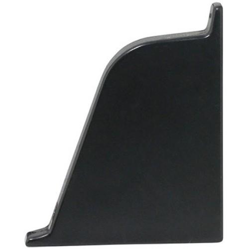 Заглушка к плинтусу Classic левая, черная   - изображение 1