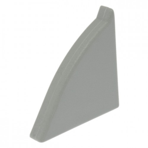Заглушка к плинтусу Classic левая,темно-серая - изображение 1
