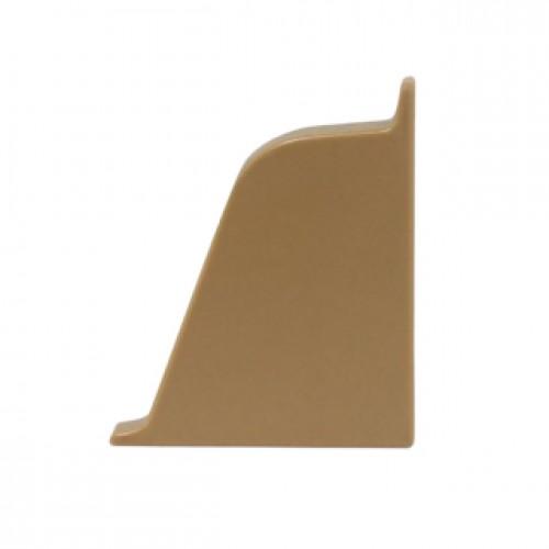 Заглушка к плинтусу Dollken правая, коричневая  TL 51-132 - изображение 1
