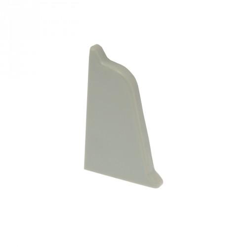 Заглушка к плинтусу Dollken левая серая TL 51-146 - изображение 1