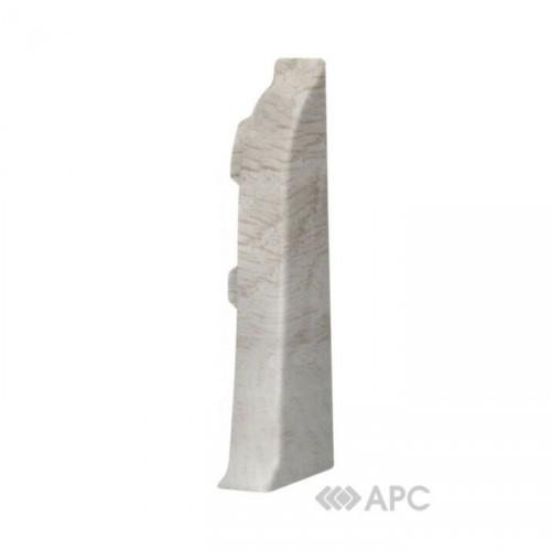 Заглушка к плинтусу правая  Стандарт Каштан Жирона - изображение 1