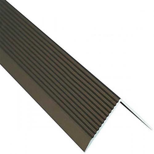 Профиль для ступеней, 30 х 30, бронза, 0.9 м - изображение 1